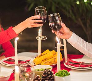 veganska božična večerja recept