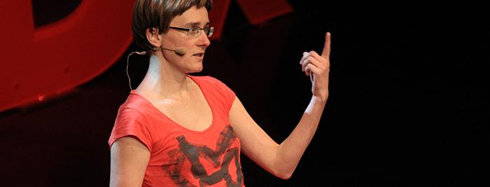 Darja Fišer - Zelemenjava - TEDx