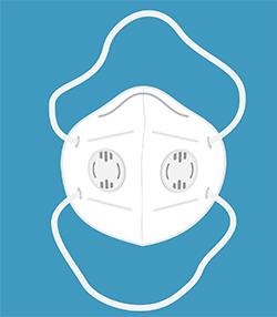 zaščitna maska za usta