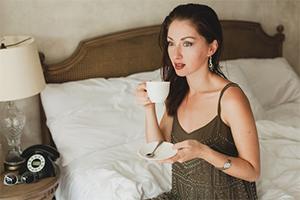 kava spanje