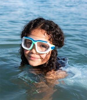 Vnetje ušesa pri otroku na morju